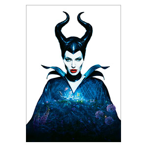Maleficent. Размер: 45 х 65 см